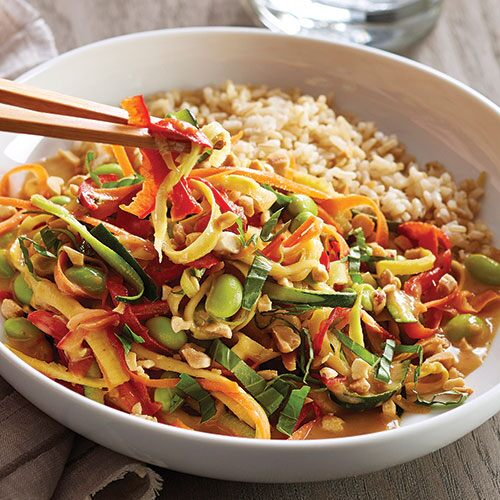 Thai Vegetable Stir-Fry - Recipes