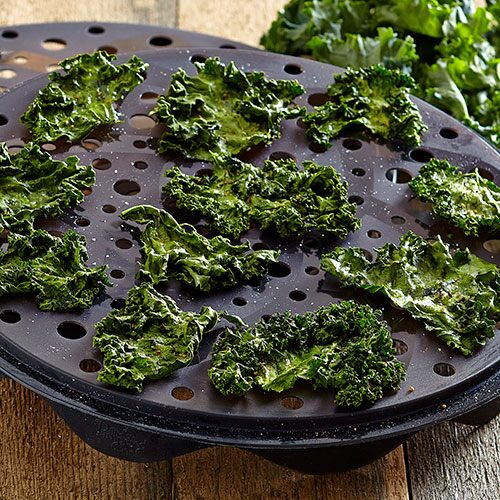 Photos Of Microwave Kale Chips