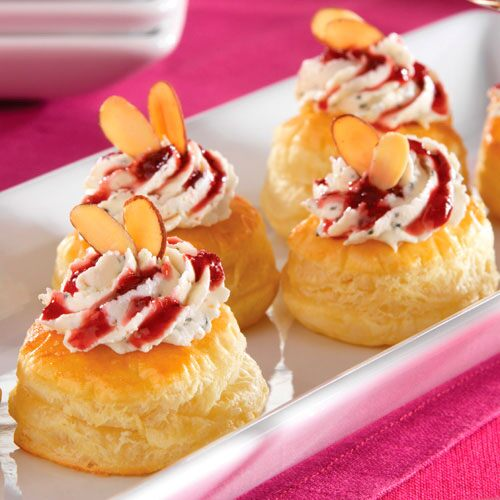 Raspberry Habanero Goat Cheese Puffs - Recipes | Pampered Chef US Site