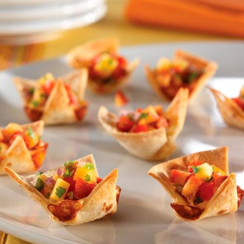Acorn Squash Quesadillas + Tomatillo Salsa Recipe — Dishmaps