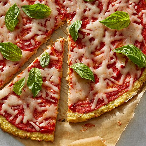 Low Carb Blumenkohl-Pizza