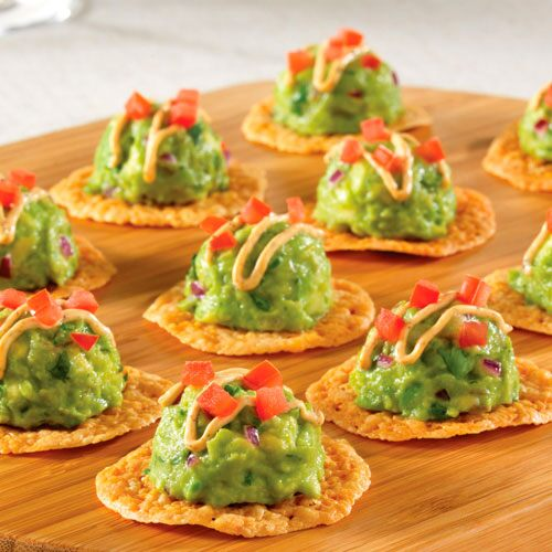 Mexican Cheese Crisps with Avocado