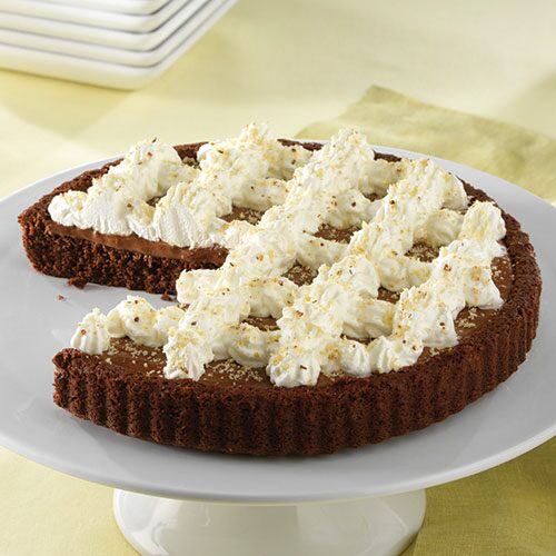 decadent chocolate hazelnut torte grated hazelnuts give this cake an ...