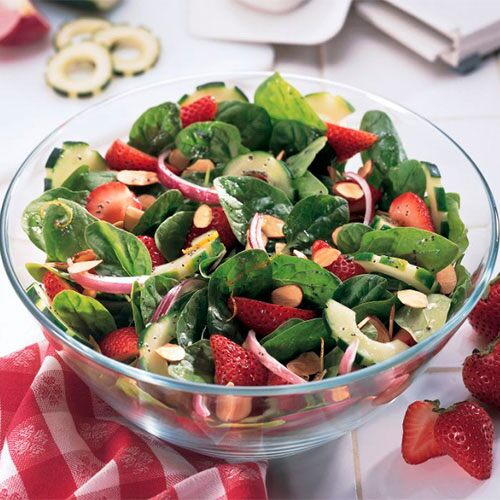 Strawberry Spinach Salad Recipes Pampered Chef Canada Site