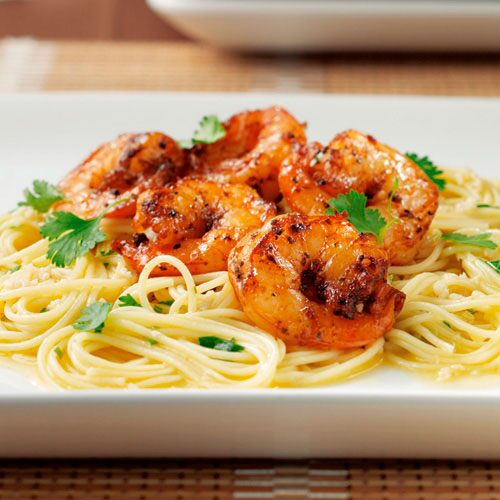 Chipotle Shrimp Scampi