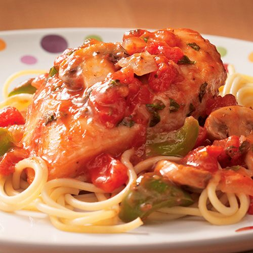 Quick Chicken Cacciatore - Recipes | Pampered Chef US Site