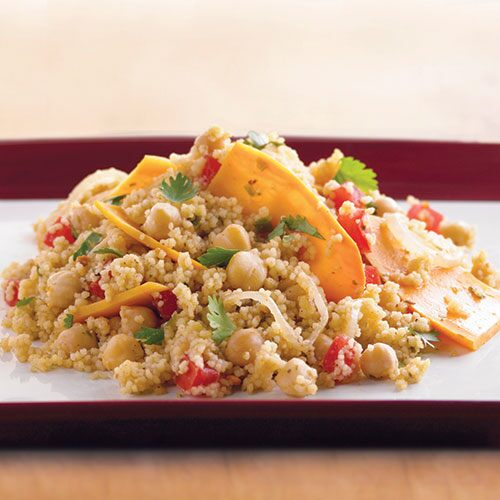 Sweet Potato Tagine with Pine Nut Couscous