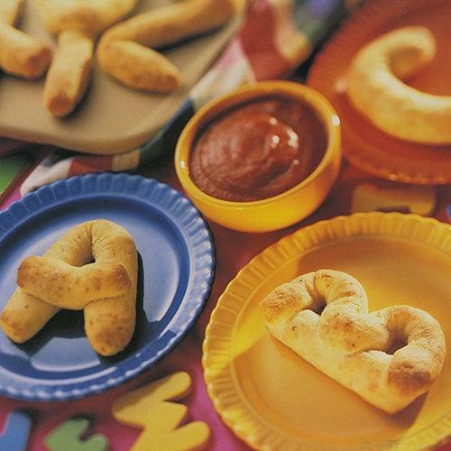 Alphabet Bread Sticks - Recipes | Pampered Chef US Site