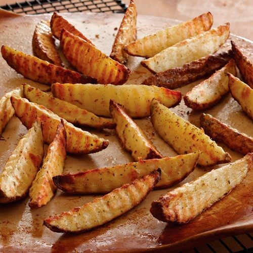 Crinkle-Cut Potato Fingers