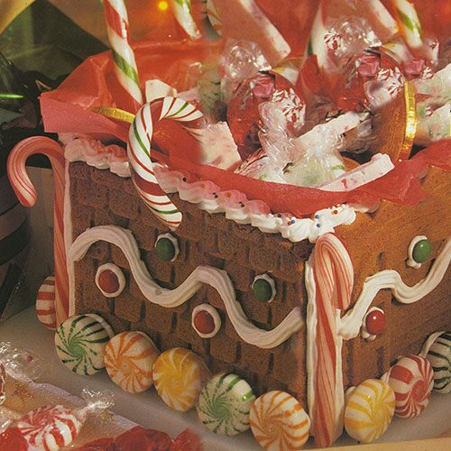 Gingerbread Treasure Box
