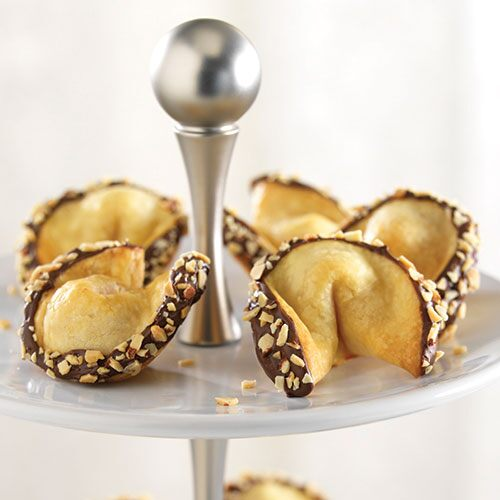 Almond-Filled Fortune Cookies