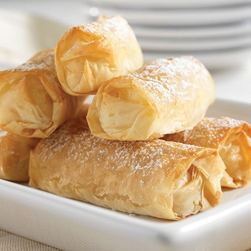 Apple-Ginger Egg Rolls