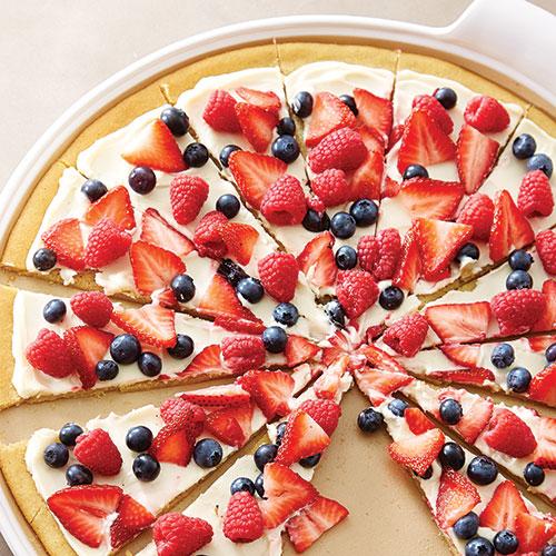 sugar cookie fruit pizza healthy fruit crisp desserts