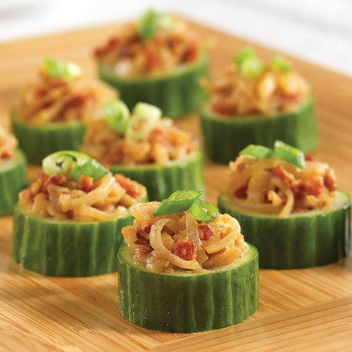 Bacon & Water Chestnut Cups