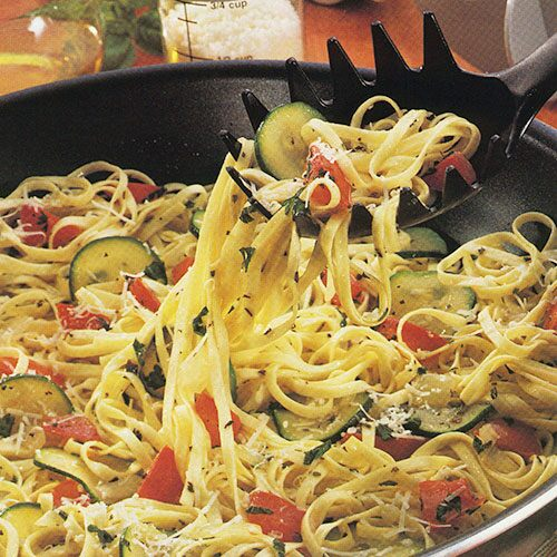 Italian Pasta Stir Fry Recipes Pampered Chef Us Site