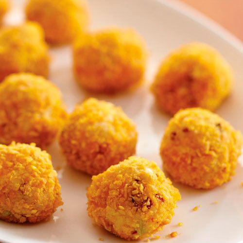 Cheddar Potato Puffs