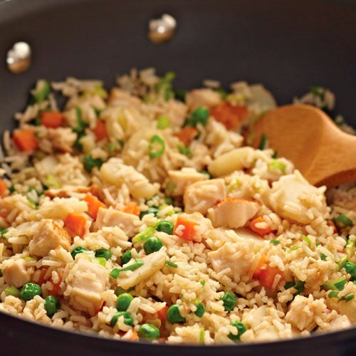 Sizzling Fried Rice
