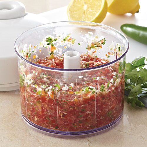 fresh tomato salsa - recipes | pampered chef us site