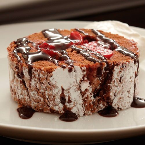 Black Forest Angel Roll