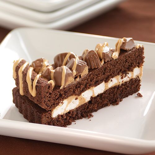 Chocolate Peanut Butter Cup Torte