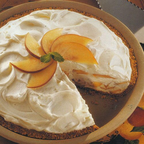 Dreamy Peach Pie