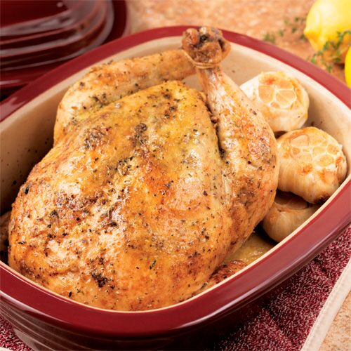 Ultimate Roasted Garlic Chicken Recipes Pampered Chef Us Site