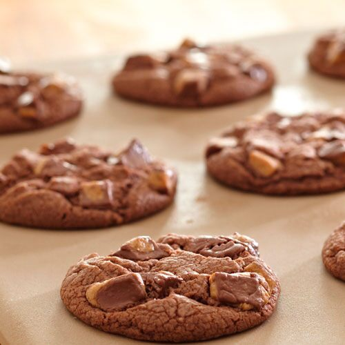 Choco-Peanut Butter Cup Cookies