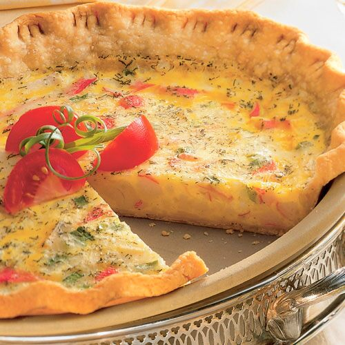 Dilly Seafood Quiche