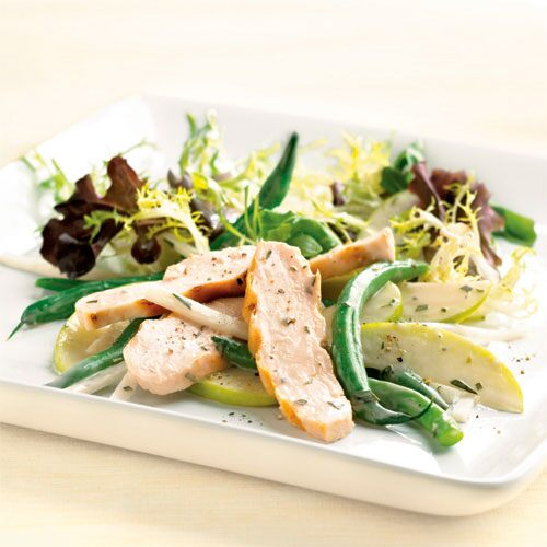 Chicken, Green Bean & Apple Salad