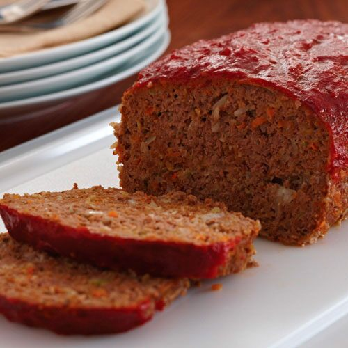 Garden-Style Meat Loaf