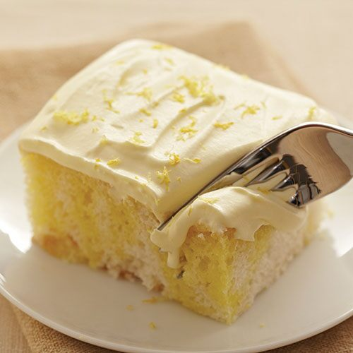 Sunshine Lemon Cake