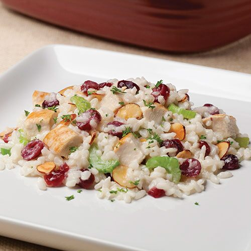 Autumn Risotto with Chicken & Cranberries