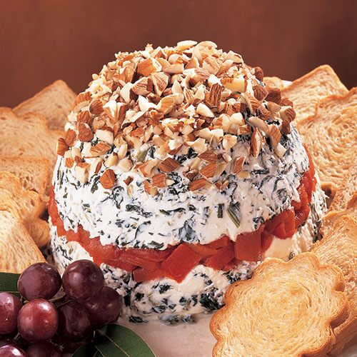Layered Athenian Cheese Spread