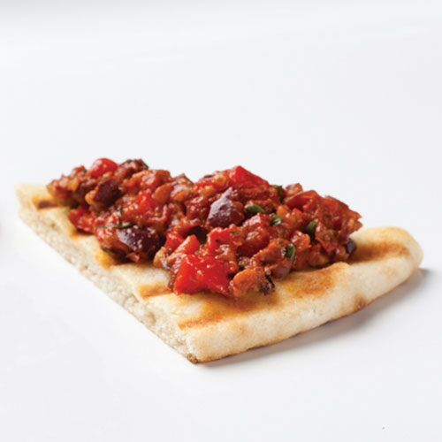 Grilled Pita Wedges