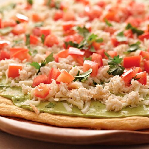 California Appetizer Pizza