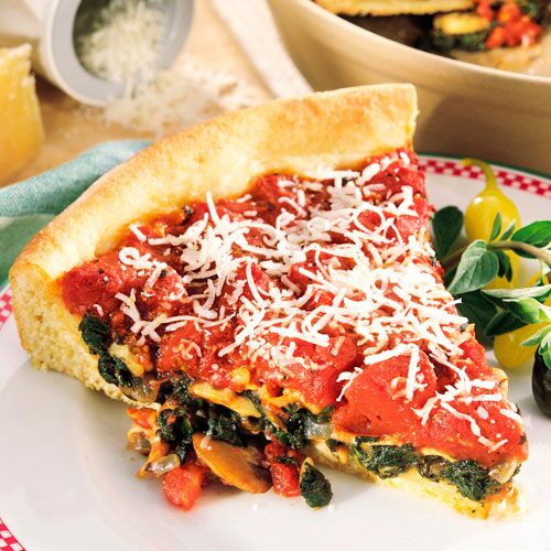Chicago-Style Deep-Dish Pizza & Chicago-Style Deep-Dish Pizza - Recipes | Pampered Chef US Site