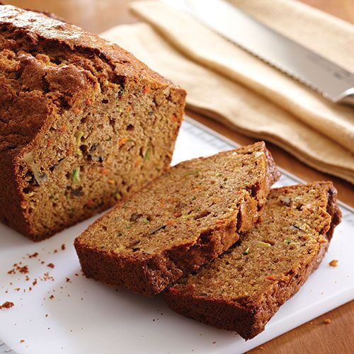 Spiced Carrot Zucchini Bread Recipes Pampered Chef