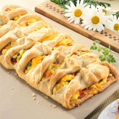 Ham 'N Eggs Brunch Braid - Recipes | Pampered Chef US Site