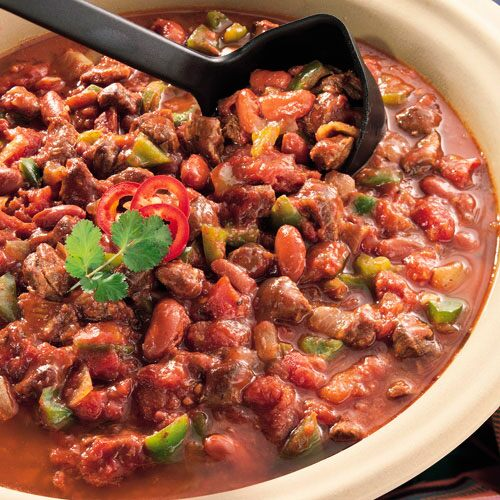 Hearty Oven Chili