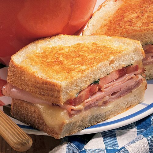 Crusty Grilled Sandwiches