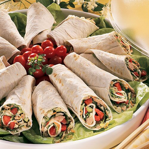 Thai Tuna Wraps