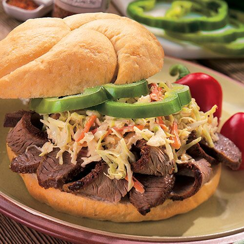 Cajun Grilled Beef Sandwiches