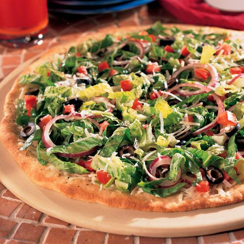 Italian Salad Pizza