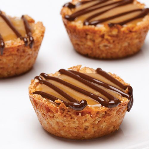 Caramel-Filled Cashew Cups