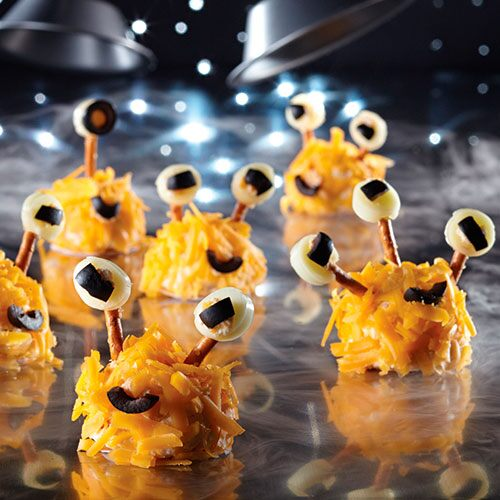 Mini Alien Cheese Balls