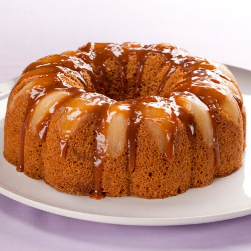 Pear-Gingerbread Cake