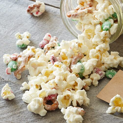 Edible Gifts Popcorn Crunch Holiday Recipes Pampered
