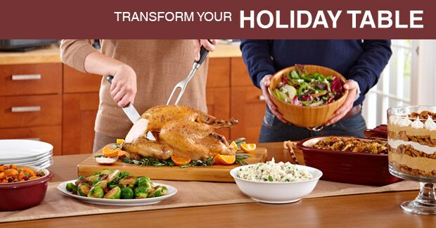 Transform your Holiday Table