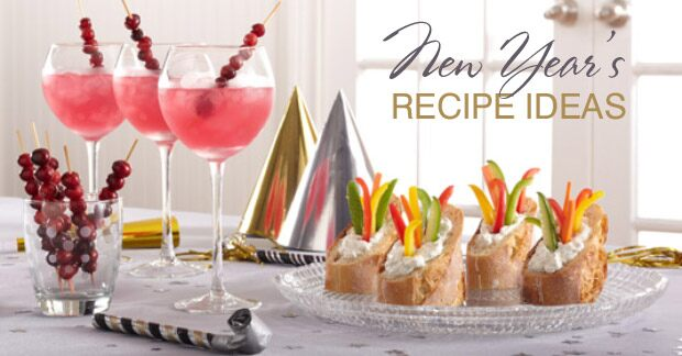 New Year's Recipe Ideas