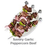 Savory Garlic Peppercorn Beef